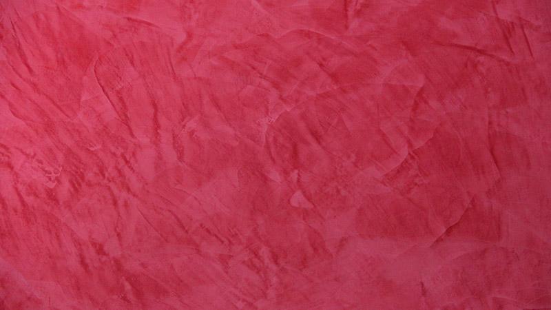 Spachteltechnik Wand rot 2