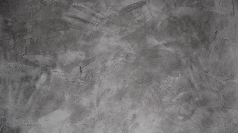 Spachteltechnik Wand grau 2