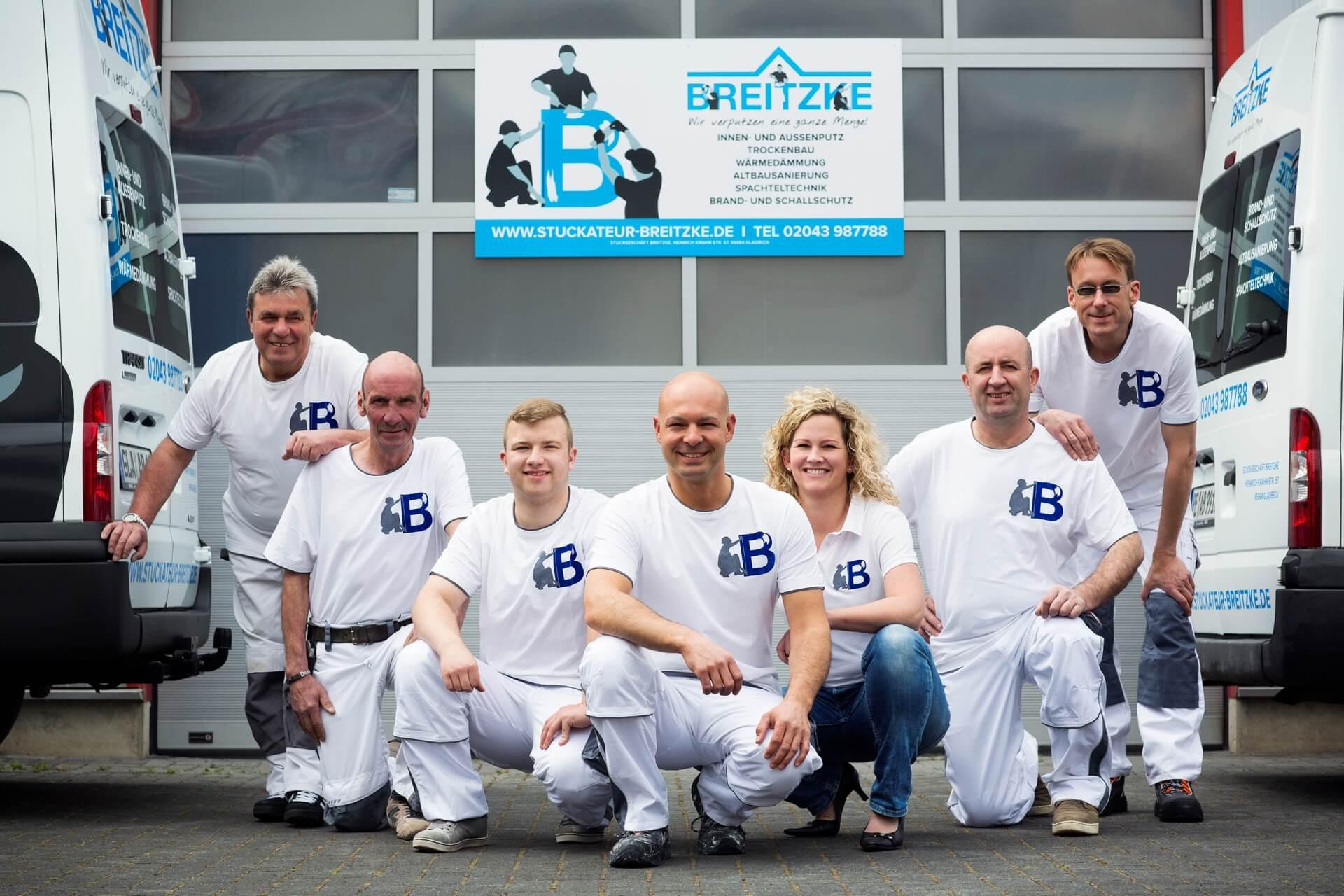 Stuckateur Breitzke Gladbeck Team