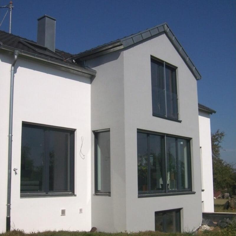 Aussenputz Einfamilienhaus NRW