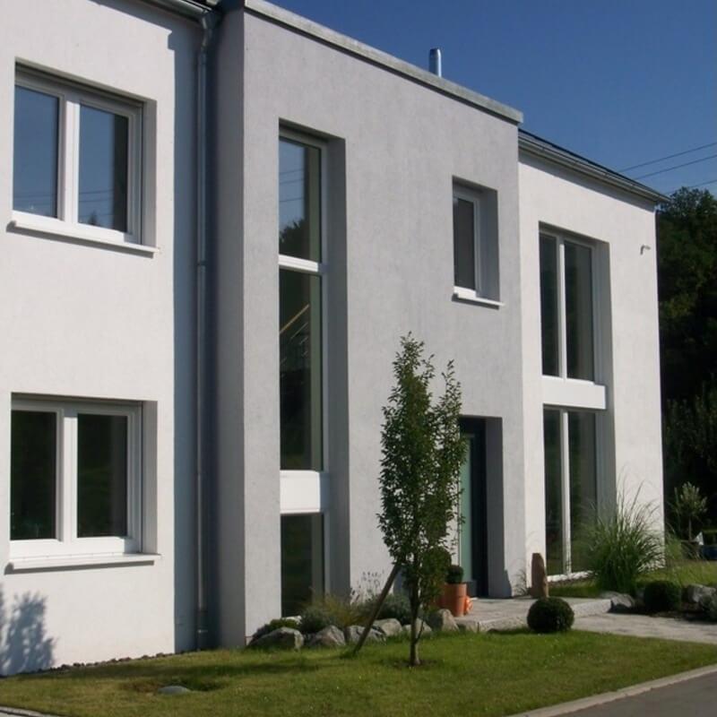 Aussenputz Mehrfamilienhaus NRW