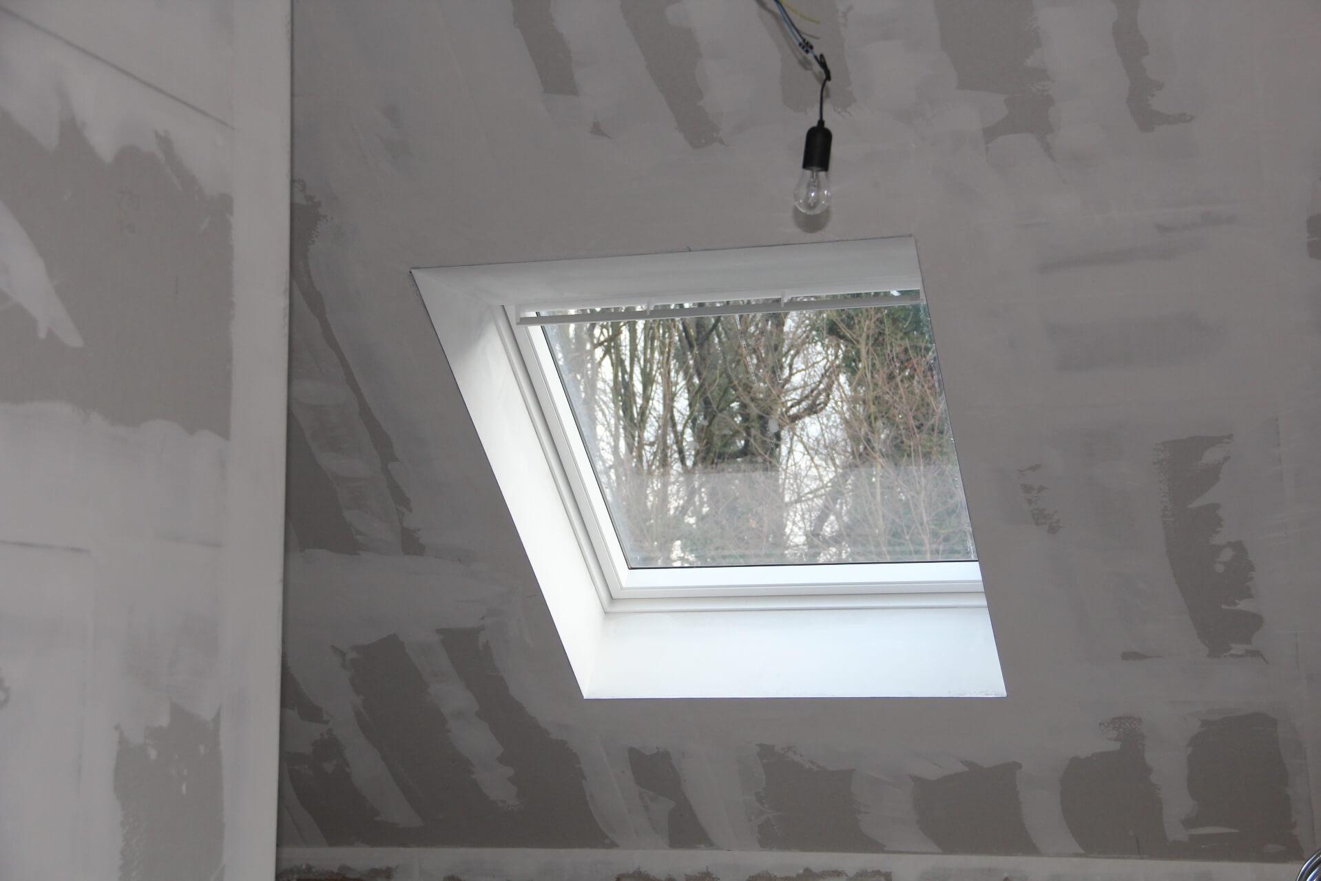 Dachbodenausbau mit Fenster NRW