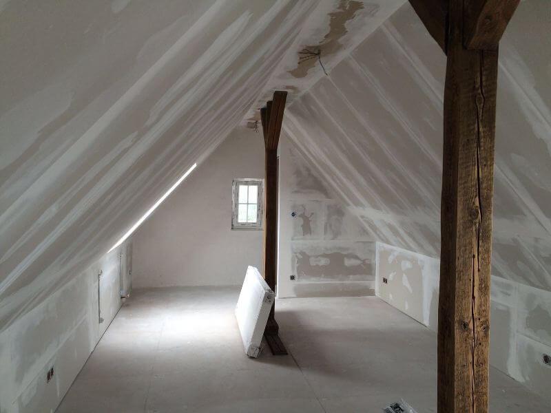 Breitzke Referenzen Trockenausbau Dachgeschoss Gladbeck